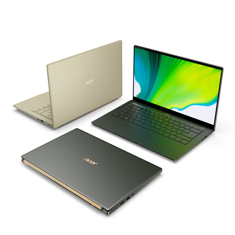 Acer Swift 5 with Tiger Lake 2 1000x1000